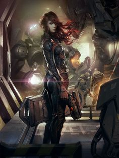 New Science Fiction Inspiration Sci Fi Fantasy Ideas Arte Sci Fi, Sci Fi Art, Fantasy Anime, Sci Fi Fantasy, Character Design Cartoon, Character Art, Baby Draw, Original Anime, Sci Fi Kunst