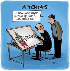 """Le dessin """"hommage"""" pour les attentats"""