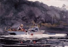 You wanna talk to me about a value study? Winslow Homer, been there, done that.