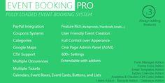 Event Booking Pro v3.615 - WP Plugin  [paypal or offline] - https://codeholder.net/item/wordpress/event-booking-pro-wp-plugin-paypal
