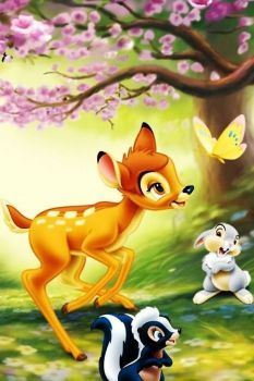 Bambi and friends pieces) - Trend Disney Stuff 2019 Bambi Disney, Disney Pixar, Disney Animation, Walt Disney, Disney Cartoon Characters, Cute Disney, Disney Cartoons, Disney Art, Disney Magie
