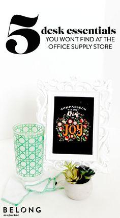 1000 Ideas About Desk Essentials On Pinterest Desks