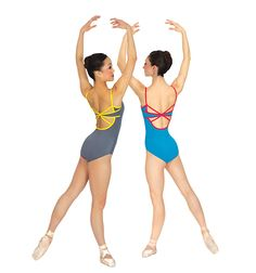 Two-Tone Camisole Leotard - Style #N8626 at Discount Dance Supply