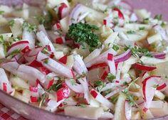 Radieschen - Apfel - Salat, ein raffiniertes Rezept aus der Kategorie Snacks und kleine Gerichte. Bewertungen: 33. Durchschnitt: Ø 4,1.