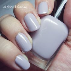 Zoya Kendal, a great milky-gray lavender.