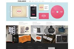 Check out Freelancer Theme WordPress by Dessign on Creative Market