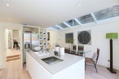 4 bedroom terraced house for sale in Pursers Cross Road, London - Rightmove House Extension Design, Extension Designs, Extension Ideas, Victorian Terrace, Victorian Homes, Find Property, Property For Sale, Kitchen Living, Living Room