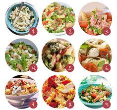 9x heerlijke pasta salades!