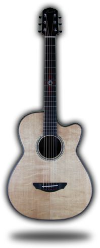 6R Cutaway Concert Acoustic w/Rosewood, Sitka Spruce and Ebony