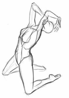Anatomy Sketches, Body Sketches, Art Drawings Sketches Simple, Anatomy Art, Pencil Art Drawings, Body Reference Drawing, Art Reference Poses, Art Poses, Drawing Poses