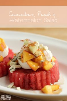 Watermelon, Peach &