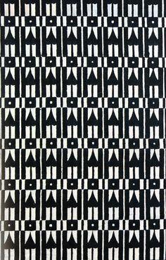Anna Sheffield / Pattern Play // Josef Hoffman fabric sample circa...