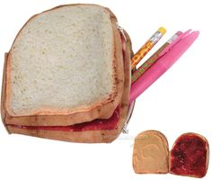 Peanut Butter & Jelly Storage Pocket. This organizer is great for storing your money, keys, iPhone, or really anything that can fit inside of a sandwich!  Cost $ 7.99