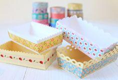 free printables - petite corbeille papier (patron vierge, à imprimer sur le papier de son choix):