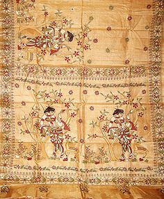 Kantha style of embroidery