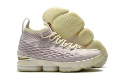 buy popular 5a4d0 e24aa Cheapest Men Kith x Nike LeBron 15 Ghost Pink Rose Gold White Shoes  Sneakers, Nike