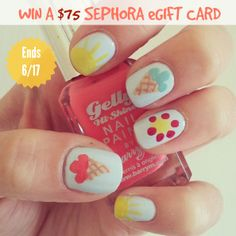 Enter this giveaway to score a $75 Sephora eGift Card from Hot Beauty Health!