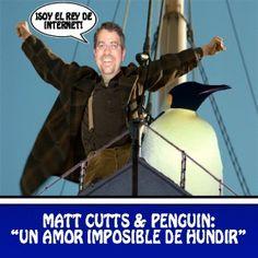 Los rumores apuntan a que Matt Cutts, el jefe antispam de Google, protagonizará, junto a su inseparable Penguin, la segunda parte de Titanic. En webpositer tenemos las primeras imágenes del rodaje.