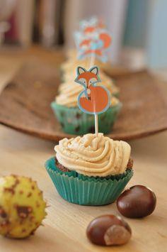C'est l'Heure du Gout-Thé: Cupcakes cacao/ salidou