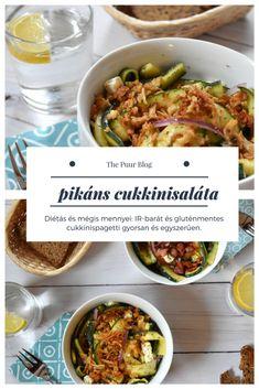 cukkinispagetti: elegáns és diétás cukkinisaláta - Gerdi receptje #thepuur #diétás #saláta #cukkini #cukkinispagetti #recept #gluténmentes