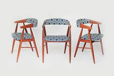 Mid Century Danish Modern Dining or Accent by retrospectiveaustin, $165.00