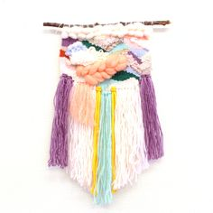 Weaving Tapestry from Tokyo. Tassel Necklace, Dream Catcher, Tassels, Tokyo, Weaving, Tapestry, Decor, Hanging Tapestry, Dreamcatchers