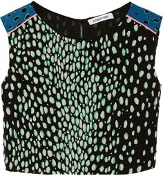 Elizabeth and James Reed printed silk top on shopstyle.co.uk