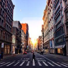 SoHo, 7am by @scottlipps #nyc