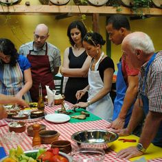 Team-work on #Athens #CookingLesson for preparing the most delicious #Greek #dinner of your life! #greekfood | Greece