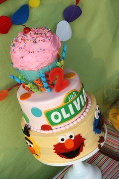 Sesame Street Party {Kids Birthday Party} via TipJunkie.com