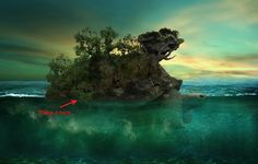 Create an Aquatic Photo Manipulation of a Giant Tortoise | PSDFan Tortoise file to use http://www.channelweb.co.uk/IMG/821/249821/tortoise-longevity.jpg