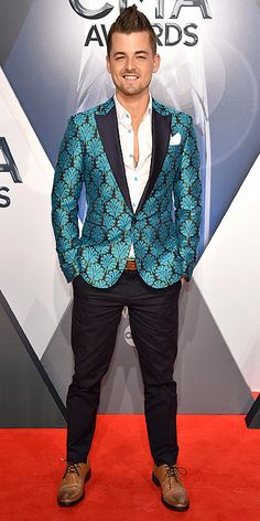 Chase Bryant- 2015 CMA Awards Best Dressed by The He Said She Said Experience