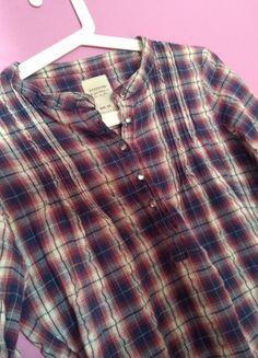Plaid, Shirts, Tops, Women, Fashion, Gingham, Moda, Fashion Styles, Dress Shirts