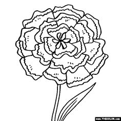 okeefe coloring pages - photo#21