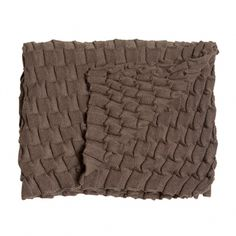 Design House Stockholm's Curly throw, brown
