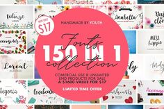 150 IN 1 BIGGEST BUNDLE by Youth on @creativemarket