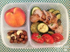 chicken sausage {paleo} lunchbox