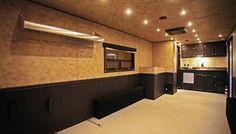 Toy hauler 1611 interior