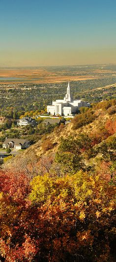 hills above bountiful temple