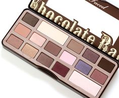 Too Faced Chocolate Bar Palette, November 2013, cant wait for this lil gem in the spring 2014! @Mica Chimera Segal Cason