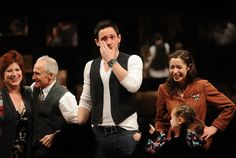 """Steve Kazee Photo - """"Once"""" Broadway Opening Night - Arrivals & Curtain Call"""