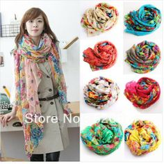 new style scarves joker fields and gardens shivering scarves autumn and winter scarf pashmina free shipping size 160*50cm $4.55