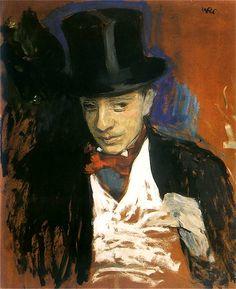 Wojciech Weiss - Portret Ignacego Pieńkowskiego, 1900