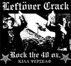Leftover Crack. New favorite band, how did i not realize how awesome they are?