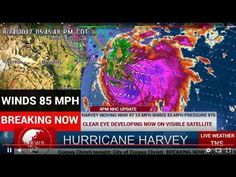 BREAKING NEWS - Hurricane Harvey Rapidly Intensifying https://youtu.be/oimXSeirz2s Hurricane Harvey Rapidly Intensifying; Strongest Texas Coastal Bend Landfall in At Least 47 Years Likely; Extreme Flood Threat Latest:  With a favorable environment that includes deep, warm Gulf of Mexico water, and low wind shear, Harvey will continue to strengthen rapidly, and could be a Category 4 hurricane at landfall along the Texas coast overnight Friday night or early Saturday morning. This would be the…