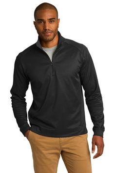 Port Authority® Vertical Texture 1/4-Zip Pullover  $27.25/ea  |  Sanmar  K805