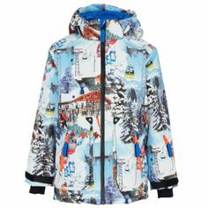 Molo Ski Resort Alpine Fleece Jacket