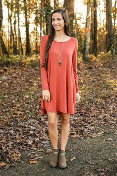 Pair with cute booties and a blanket scarf or long layering necklace Cute Fall Fashion, Autumn Winter Fashion, Style Fashion, Fashion Ideas, Fall Dresses, Fall Outfits, Cute Outfits, Piko Dress, Dress Me Up