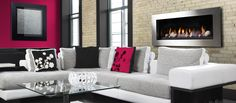 Marquis Fireplaces - Barrie and Innisfil Heating, Air Conditioning & Gas Contractors Direct Vent Fireplace, Contemporary Style, Modern, Interior Decorating, Interior Design, Classic Interior, Design Consultant, Gas Fireplaces, Design Inspiration