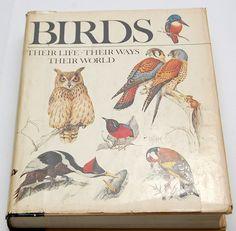 1979 Reader's Digest Edition Birds Their Life Their Ways Their World